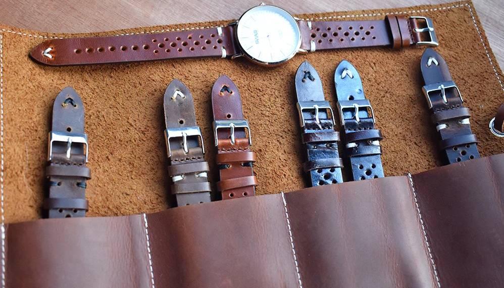 Cerchi un cinturino da orologio in pelle? Eccone 17 tipi diversi (nero, marrone e….)