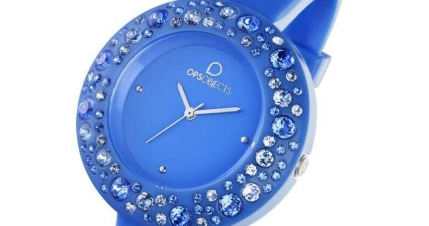Orologi Ops con Brillantini modello blue