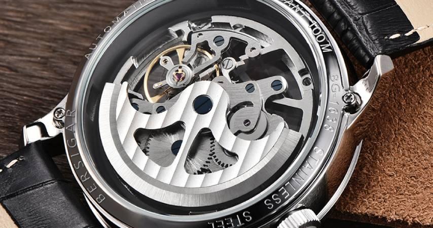 Orologio da Uomo Automatico Con Quadrante Scheletrato Beirsgar