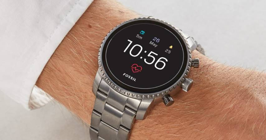 Smartwatch in Acciaio Inox: FOSSIL-SMARTWATCH FTW4012
