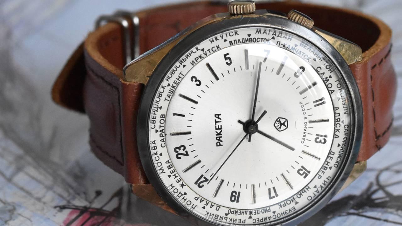 Orologio 24 ore da polso: quadrante con una lancetta (monolancetta)