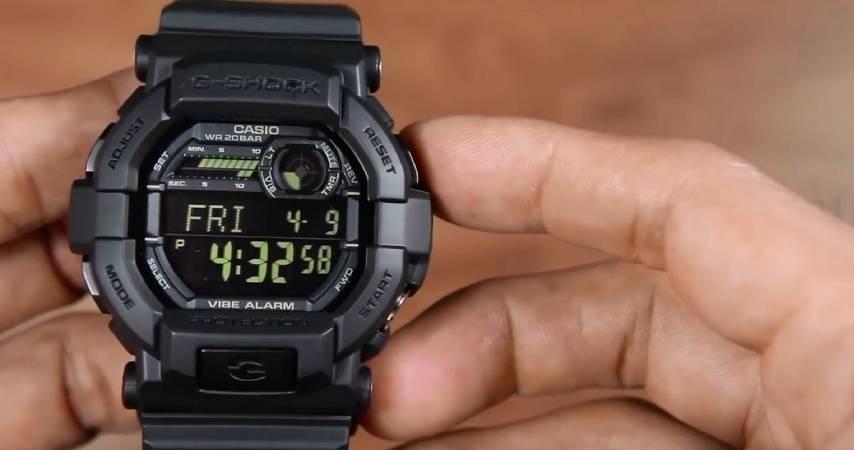 Tra i migliori orologi digitali da uomo c'è il Casio Digitale Quarzo con Cinturino in Resina GD350-8