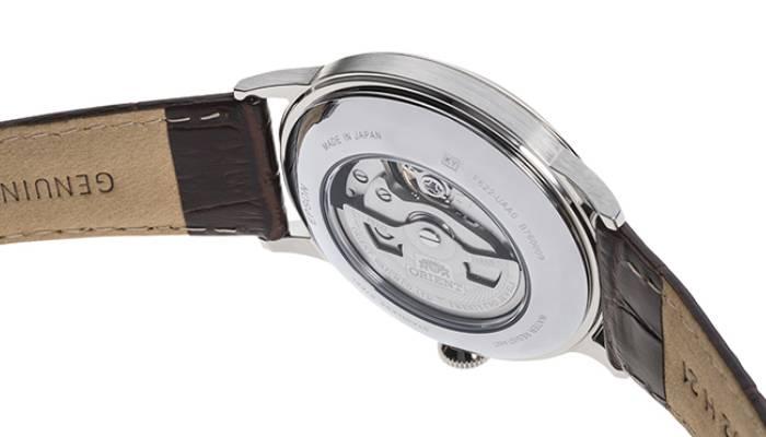 Orient Orologio Vintage Analogico Automatico Uomo con Cinturino in Pelle con cassa in acciaio inox dal diametro di 41 mm